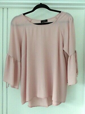 Ladies Pink Matalan Blouse Size 14 New • 2£
