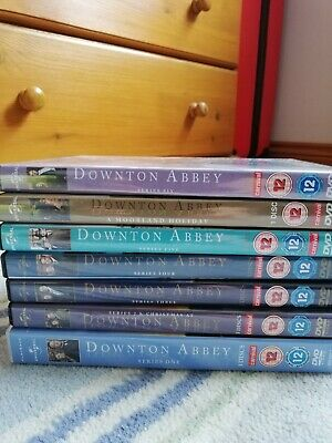 Downton Abbey Complete Series Seasons 1-6 Including A Morland Holiday • 30£