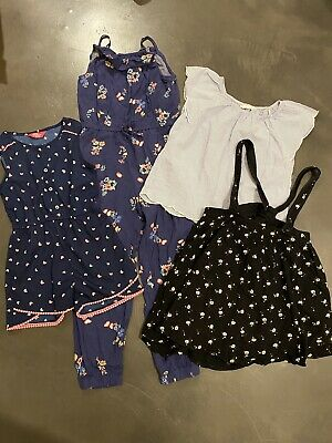 Bundle Girls Summer Clothes Age 6-7 Years Jumpsuit Romper Dungaree Dress Floral • 4.20£