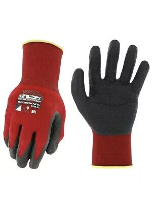 $8.25 • Buy Mechanix Wear Speedknit Gloves, Red And Black, Large/XL Abrasion Resistant