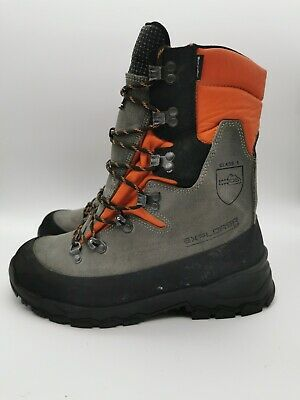 STEIN Explorer XP Chainsaw Boot Class 1Size UK 9 EU 43 • 99.99£