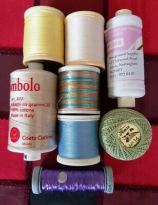Threads For Lacemaking, Tatting/Crochet & Embroidery • 11£