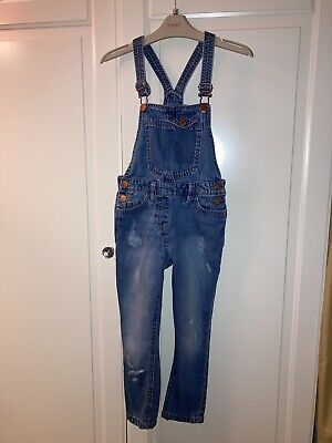 Girls Next Dungarees Age 6 • 3£