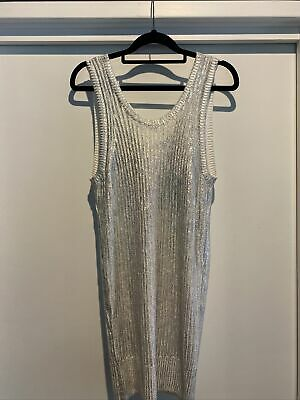 AU70 • Buy Sass And Bide Silver Top/ Mini Dress