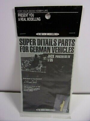 $9.99 • Buy Sealed The Show Modelling Jack Panzer Iii Iv Ditail Parts German Vehicles