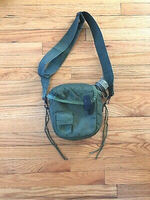 $ CDN21.27 • Buy US Military Issue 2 Quart Collapsible Canteen W/ Nylon Cover ALICE LBT ABA AWS