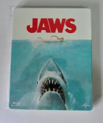 Jaws Limited Edition Steelbook (Blu-ray ) [1975] • 19.99£