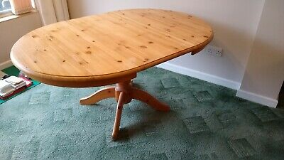 IKEA Pine Extendable Table, Great Condition • 15£