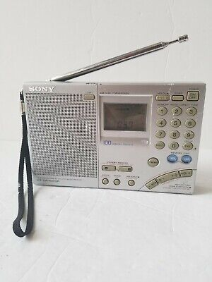 Vintage Sony Am/fm Radio Portable Shortwave World Band Receiver Icf-sw7600gr • 99.99£