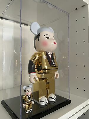 $278.22 • Buy Bearbrick 400% 100% Fukuske Gold Be@rbrick