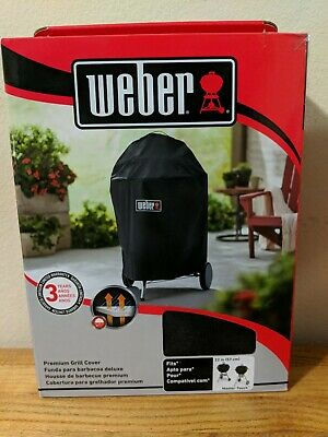 $ CDN43.35 • Buy Weber 7150 Premium Cover Fits 22  Kettle And Master-Touch Charcoal Grills BNIB