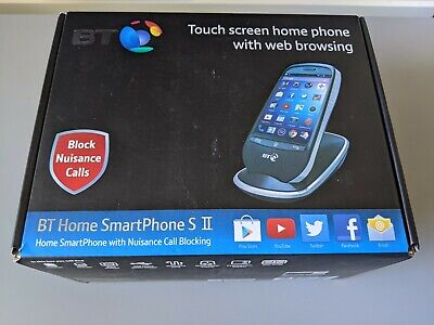 BT Home Smartphone S II DECT Cordless Landline Home Phone Running Android • 17.99£