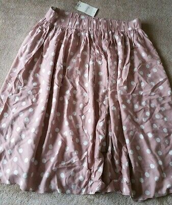 Women's Pink Polka Dot Skirt Size 18 Brand New With Tags • 10£