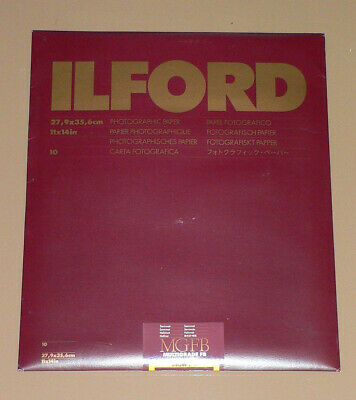 ILFORD MULTIGRADE FB WARMTONE SEMI-MATT 11X14 (27.9X35.6cm). PACK OF 10 SHEETS • 23.90£