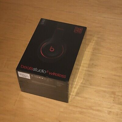 Genuine Apple Beats By Dr. Dre Studio 3 Wireless Headphones Matt Black Excellent • 299£
