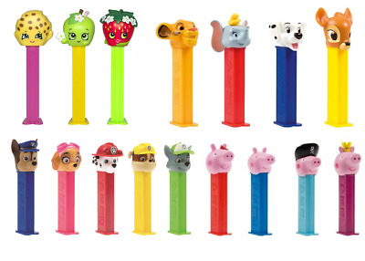 PEZ Candy Sweets Dispensers PLUS 8 Fruit Mix Single Refills • 4.99£