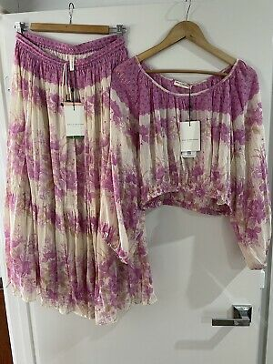 AU202.50 • Buy Spell And The Gypsy Coco Lei Skirt And Blouse Set BNWT Size L