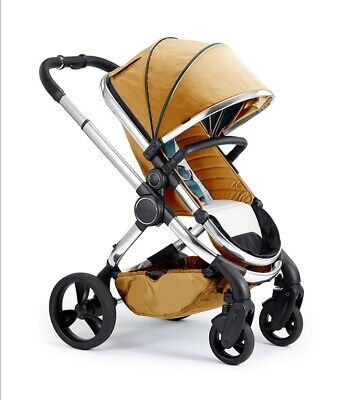 NEW ICandy Peach 3 Chrome Nectar Travel System Carrycot Pushchair Buggy Set • 470£