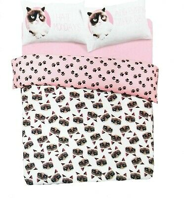 USED Grumpy Cat Duvet Cover Double • 3.20£