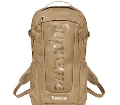 $ CDN367.91 • Buy Supreme Tan Backpack Ss21 (in Hand) Os 100% Authentic/ Brand New..