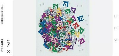28g 21st Multi Coloured Table Scatters Confetti Adults 21 Birthday Party  X 2 • 1.20£