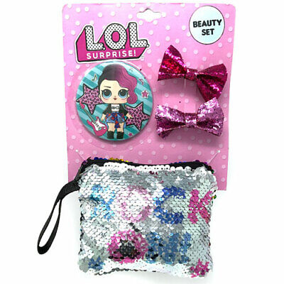 AU9.93 • Buy  Official Lol Surprise Doll Hair Accessories Set Mirror And Purse
