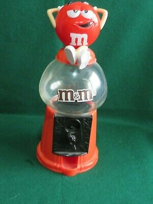 12 Inch Tall  M&M's Red Sweet Dispenser Not Working Correctly • 1£