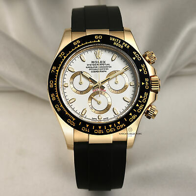 $ CDN50184.07 • Buy Rolex Daytona 116518LN 18k Yellow Gold Ceramic 2020