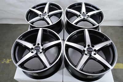 $324 • Buy 15  Wheels Mazda Miata Honda Civic Mini Cooper Toyota Corolla Black Rims 4 Lugs