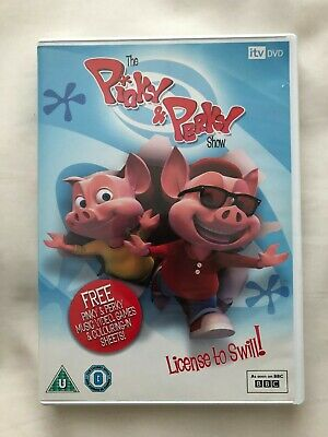 The Pinky And Perky Show: License To Swill! DVD • 3£