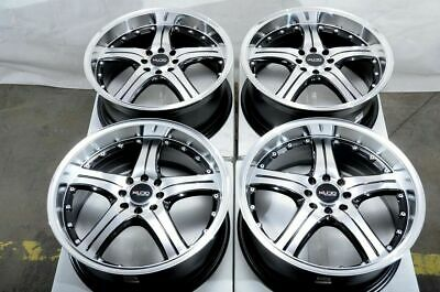 $469 • Buy 15  Wheels Ford Fiesta Escort Yaris Prius C Corolla Scion XA XB Black Rims 4 Lug