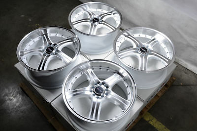 $474 • Buy 18  Wheels Sebring Intrepid Accord Civic Prelude Is250 Cx-3 Galant White Rims