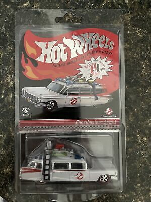 Ghostbusters Ecto-1 Hot Wheels Redline Club New W/ Protective Case • 57.89£
