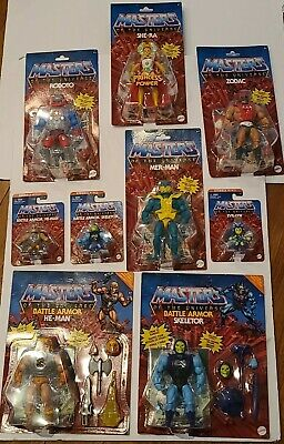 $185.13 • Buy Masters Of The Universe Lot Of 9 Figures He-Man, Skeletor, Roboto, She-Ra  +more