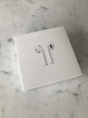AU122.50 • Buy Apple AirPods 2nd Generation With Charging Case - White (SEALED, BRAND NEW)