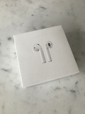 AU127.50 • Buy Apple AirPods 2nd Generation With Charging Case - White (SEALED, BRAND NEW)