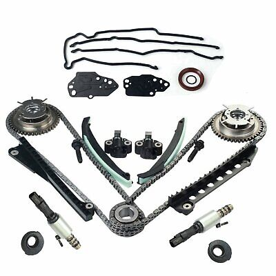 $162.74 • Buy For 05-08 Ford 5.4 F150 F250 3V Timing Chain Kit Cam Phaser Timing + Cover Seal