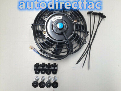 AU30 • Buy 9 Inch 12V 80W Reversible Electric Thermal Cooling Fan + Mounting Kits