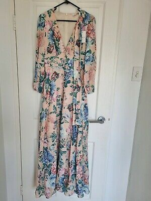 AU115 • Buy Zimmermann Linen Maxi Dress Dupe Very High Quality Sz 0 Or 8