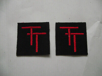 £9.99 • Buy 50TH Northumbrian Infantry- WW2 Repro Shoudler Titles Patch Badge New