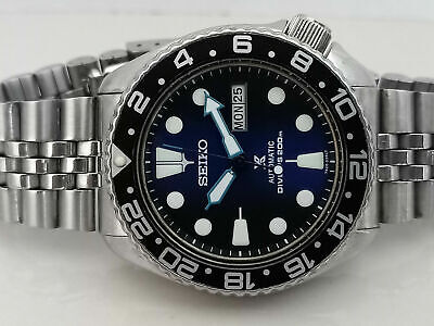 $ CDN102.31 • Buy Vintage Seiko Diver 6309-7290 Save The Ocean Face Mod Automatic Men Watch 761384