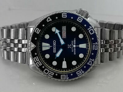 $ CDN72.32 • Buy Vintage Seiko Diver 6309-729a Save The Ocean Face Mod Automatic Men Watch 7d1857