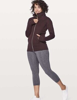 $ CDN37.54 • Buy Women's Lululemon Radiant Jacket II.  Size 10.  Black Cherry.