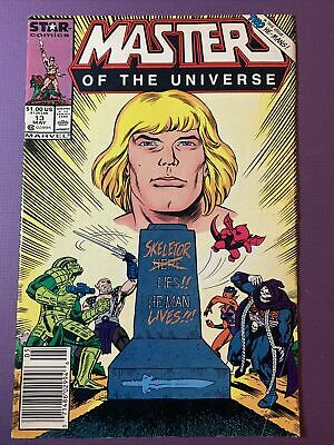 $36.99 • Buy Rare Vintage 1987 MASTERS OF THE UNIVERSE #13 HE-MAN Final 80s Marvel Comic Book