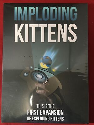 AU11.72 • Buy Imploding Kittens : The First Expansion Of Exploding Kittens New Sealed