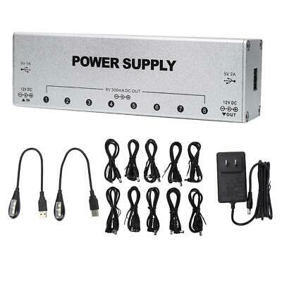 $ CDN47.85 • Buy Effects Pedal Power Supply With 2 Stable USB Ports Guitar Pedal Power Supply