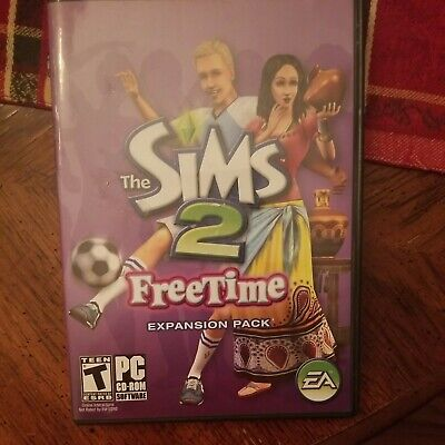 £14.15 • Buy The Sims 2 FreeTime Expansion Pack With Key Code PC CD ROM Windows 2008