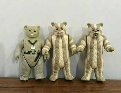 $ CDN34.49 • Buy Star Wars Ewoks Action Figures1983 Vintage Logray Chief Chirpa Return Empire Lot