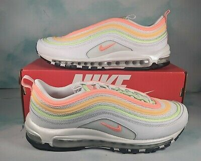$ CDN227.87 • Buy Nike Air Max 97 Sneakers Shoes Womens Size 12/ Men's Size 10.5 White Atomic Pink