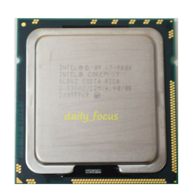 $ CDN127.27 • Buy Intel Xeon I7-980X-3.33 GHz I7-990X-3.46 GHz LGA1366 CPU Processor